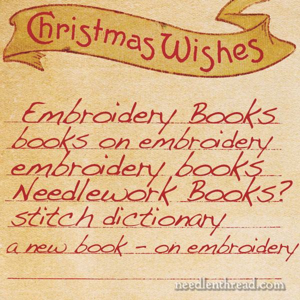 12 Embroidery Books for Christmas