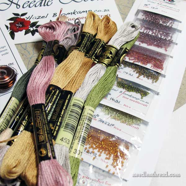 Late Harvest Embroidery Kit