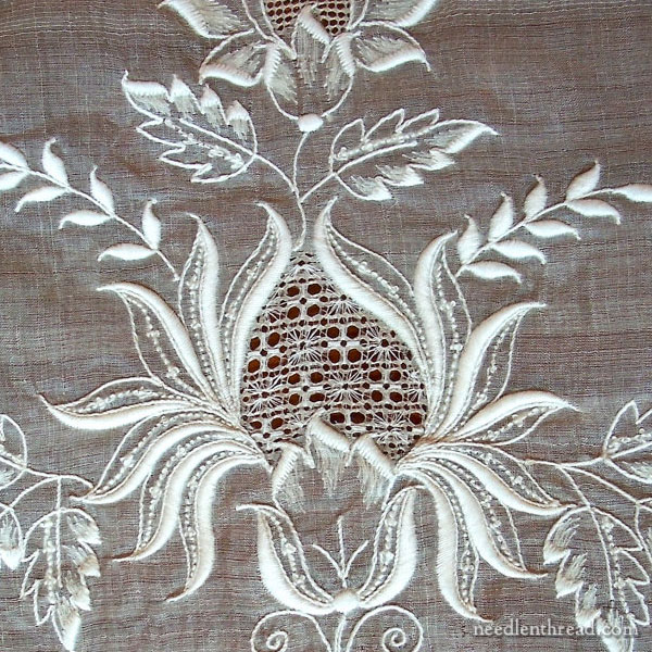 Washing Piña Cloth Embroidery