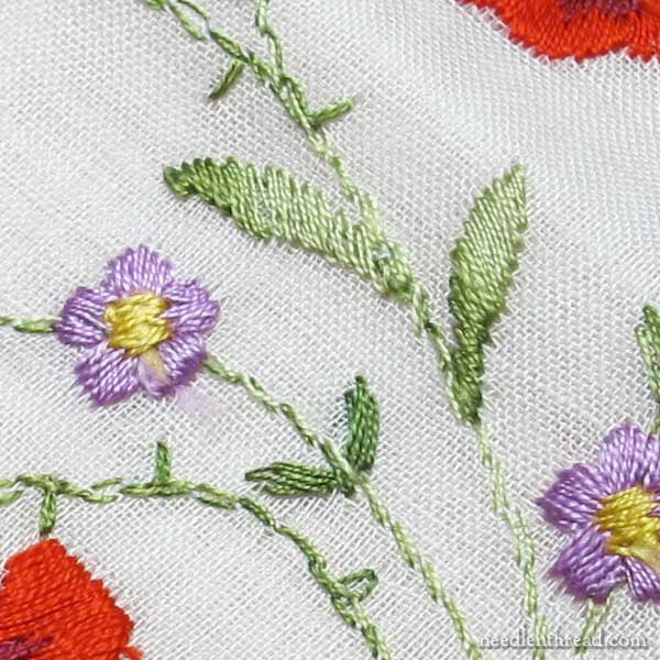 Hand Embroidery vs  Machine Embroidery – and how to tell the