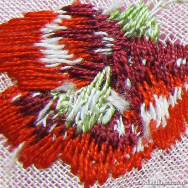 Hand embroidery vs machine and how to tell