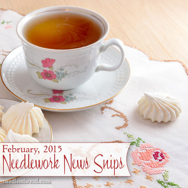 Needlework & Embroidery News