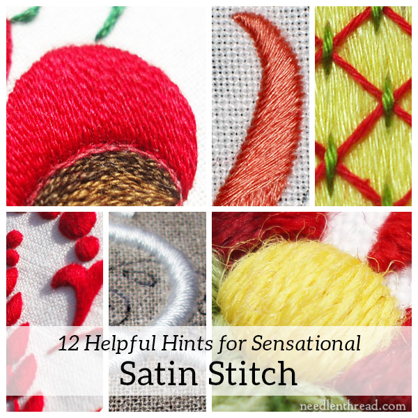 40 Tips For A Sensational Satin Stitch NeedlenThread Magnificent How To Make A Satin Stitch On A Sewing Machine