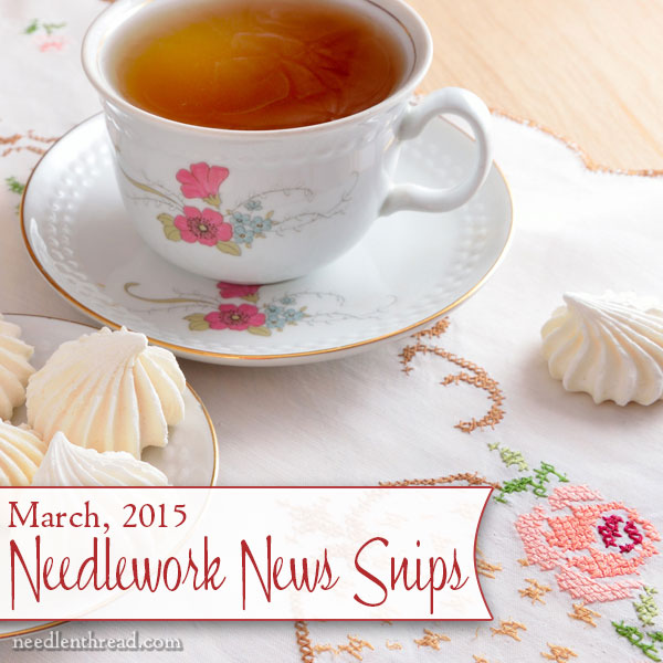 Needlework News Snips
