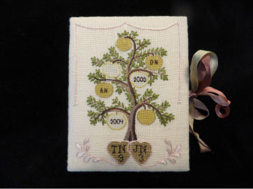 Thistle Threads Needlework Nibble: Middlesex Tree Sampler