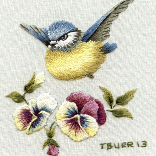 Trish Burr Needle Painting - Free Design & Instructions