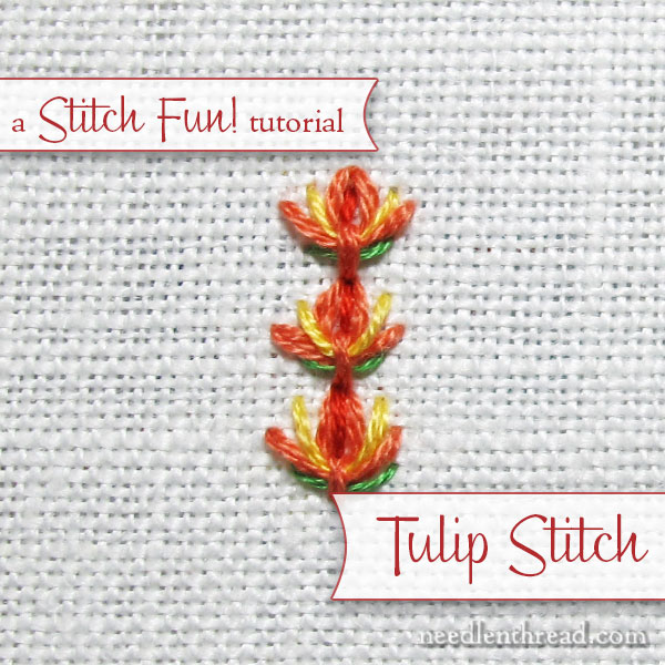 Tulip Stitch Tutorial