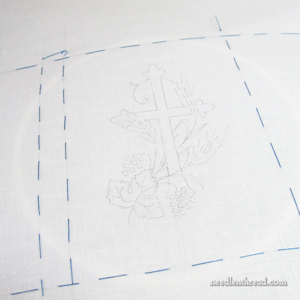 Embroidered Prayer Book Cover