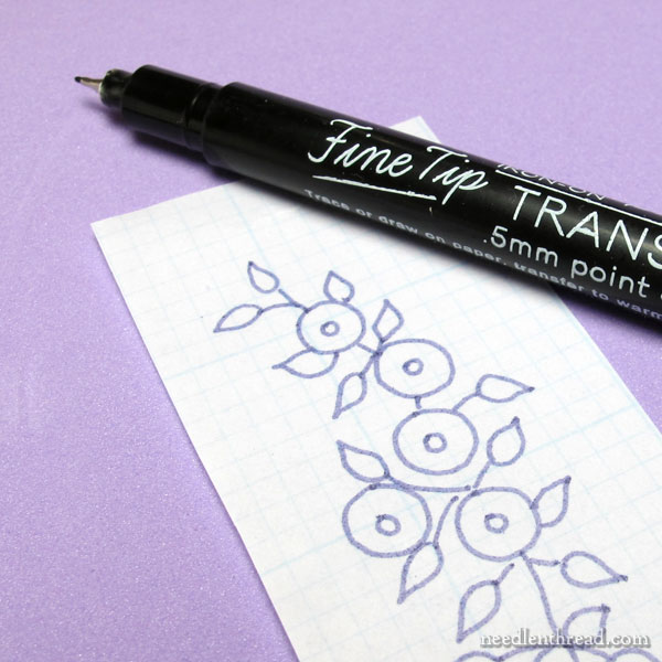Sublime Stitching Iron-On Transfer Pens for Embroidery
