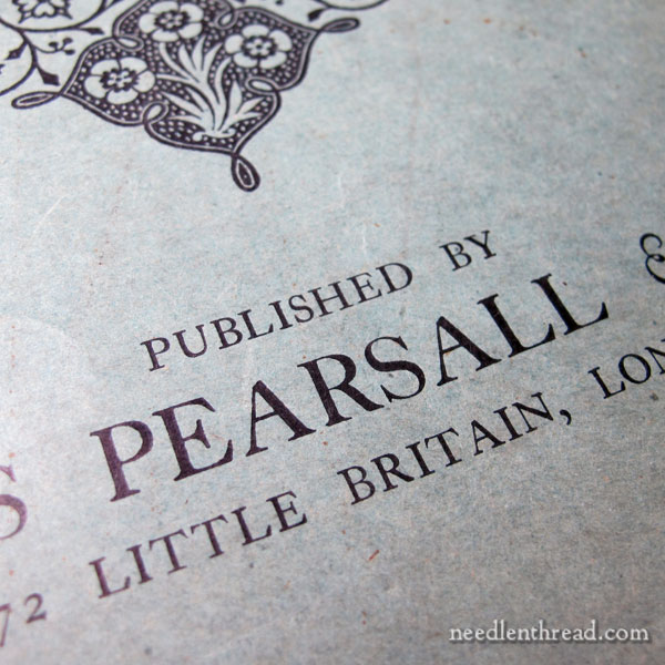 Pearsall's Embroidery Magazine from 1909