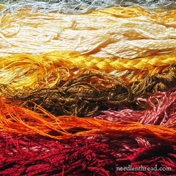 Embroidery Floss: Thread Grain - Does it really matter?