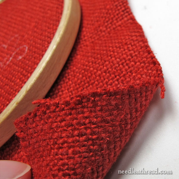 20 count embroidery linen from Legacy Linens