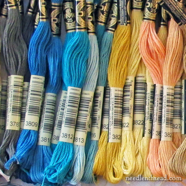 Organizing Embroidery Thread for Large Needlework Projects