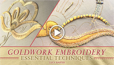 Goldwork Embroidery Class on Craftsy