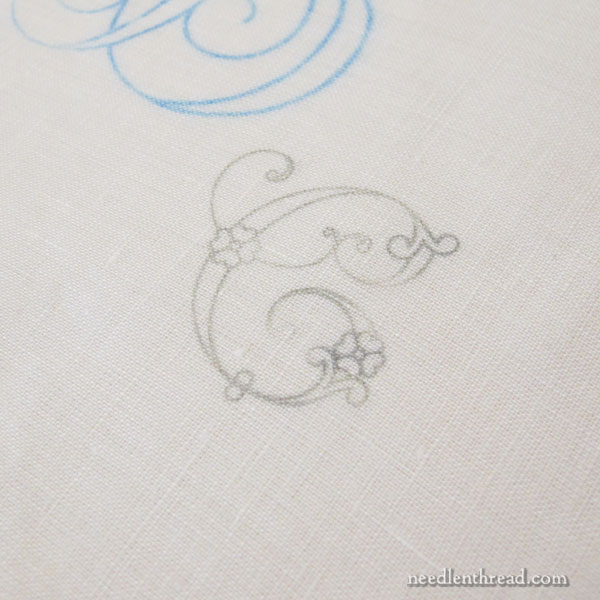 Iron-On Transfers for Hand Embroidery