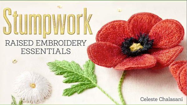 Stumpwork Embroidery Essentials Online Class For Beginners