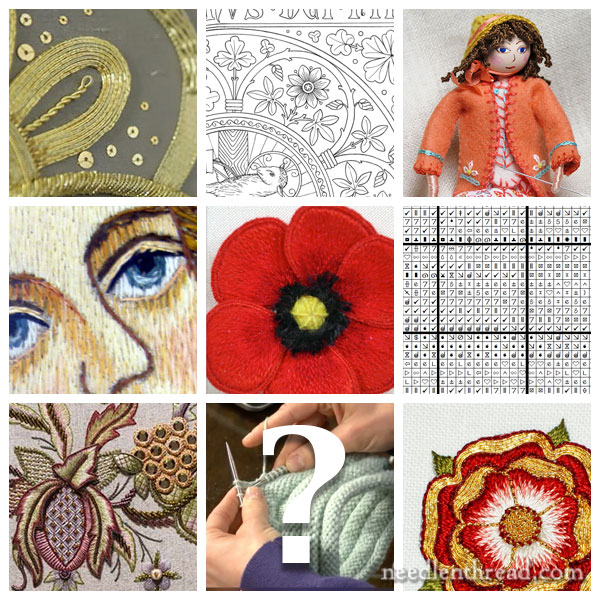 Needlework Adventures for 2016 on Needle 'n Thread