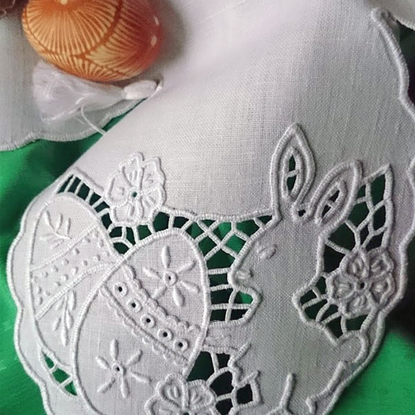 Easter Cutwork Embroidery Pattern