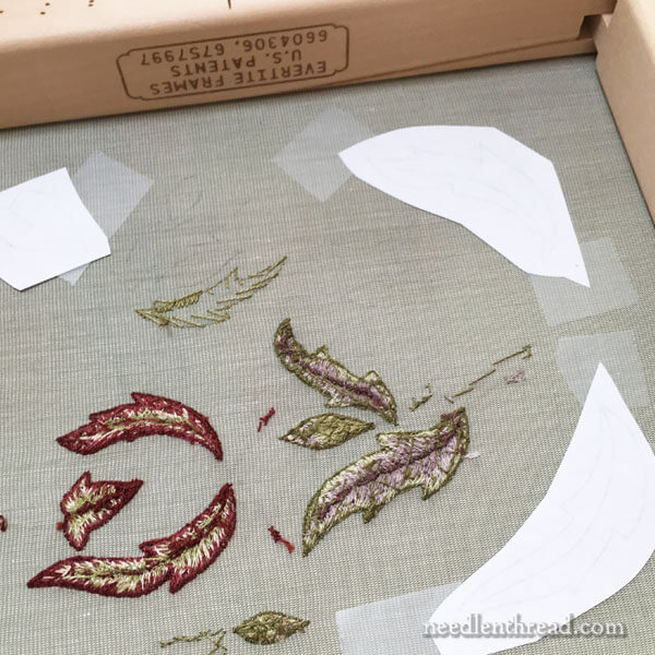 Late Harvest Embroidery Project - Stumpwork Elements