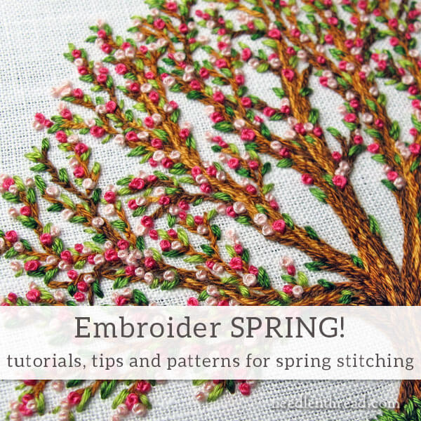 Spring Embroidery: Tutorials, Patterns and Ideas for Stitching