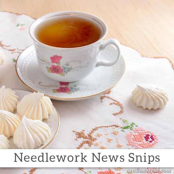 Needlework News Snips on Needle 'n Thread, March 2016