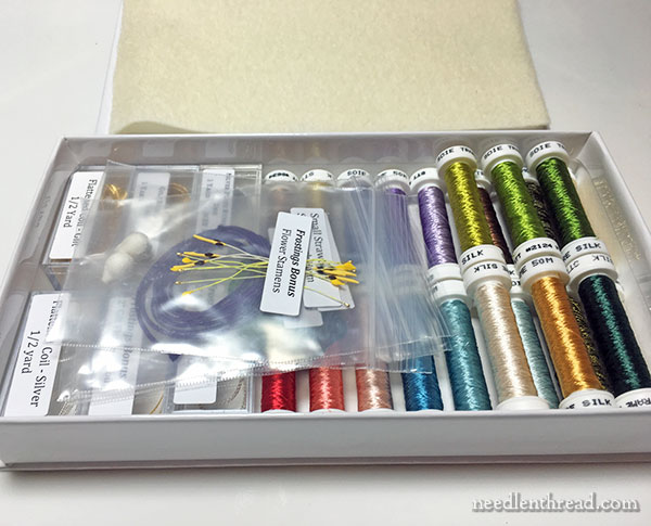 Frostings Club Embroidery Thread Box