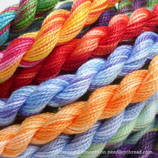 Colour Complements embroidery thread