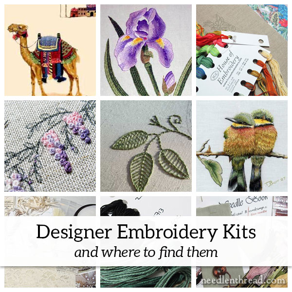 Designer Embroidery Kits and Where to Find Them