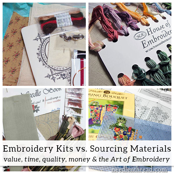 Embroidery Kits vs. Sourcing Materials