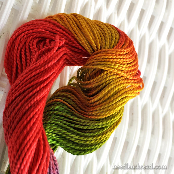 Artfabrik Hand-dyed threads