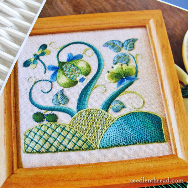 Modern crewel an inspirations embroidery kit review