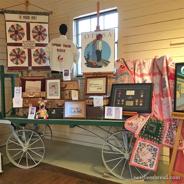 Orphan Train Museum - Embroidery