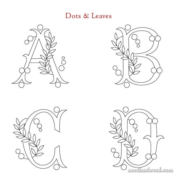 Favorite Monograms Design Collection