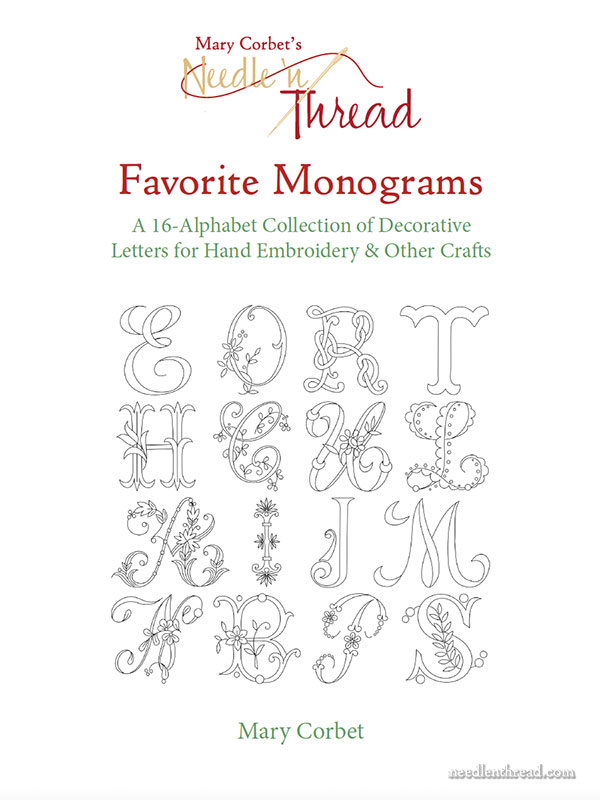 Favorite Monograms: A Design Resource for Hand Embroidery and Other Crafts