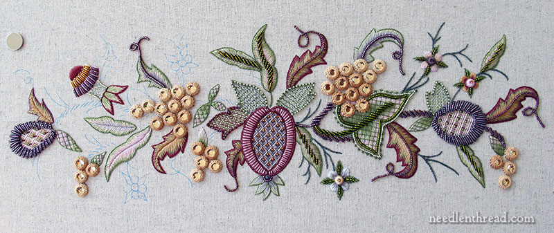Late Harvest embroidery project