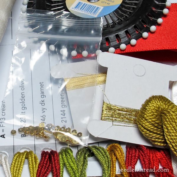 Inspirations Embroidery Kit: Chatelaine