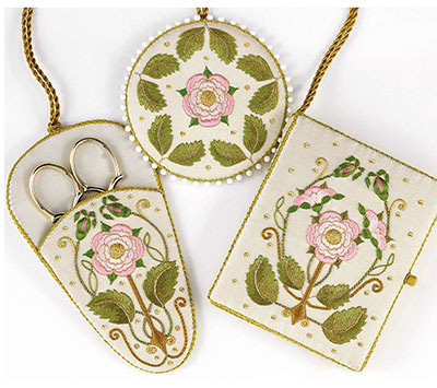 Chatelaine Embroidery Kit from Inspirations