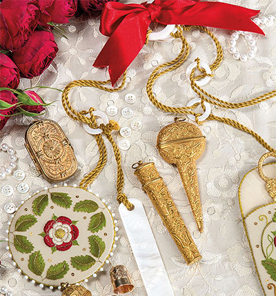 Chatelaine Embroidery Kit from Inspirations Magazine