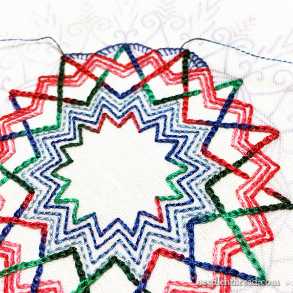 Kaleidoscope Embroidery