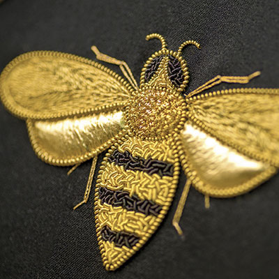 Inspirations Embroidery Kit - Honey Bee by Allison Cole