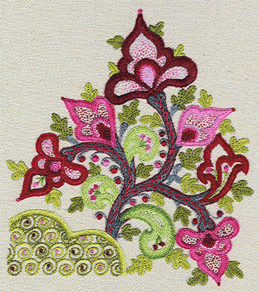 Kashan Crewel Embroidery Kit