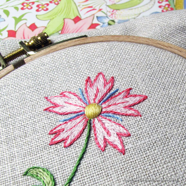 Cotton Floche Embroidery Thread: Three Good Reasons to Try It