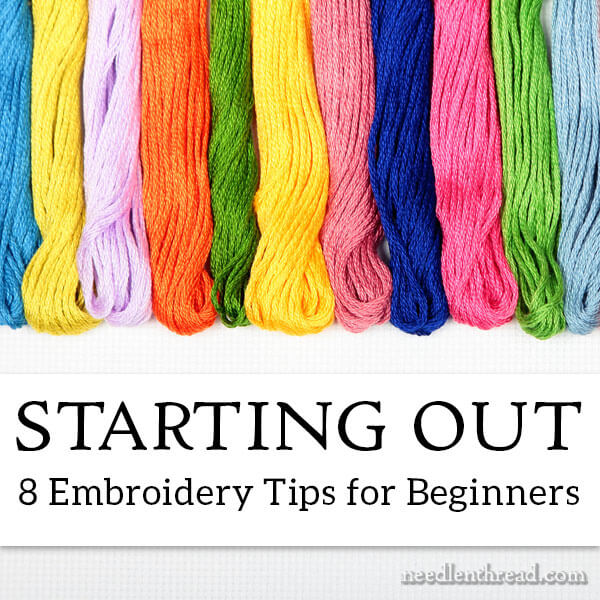 8 Embroidery Tips for Beginners