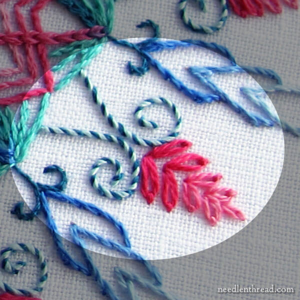 Coloris Kaleidoscope: A Hand Embroidery Project