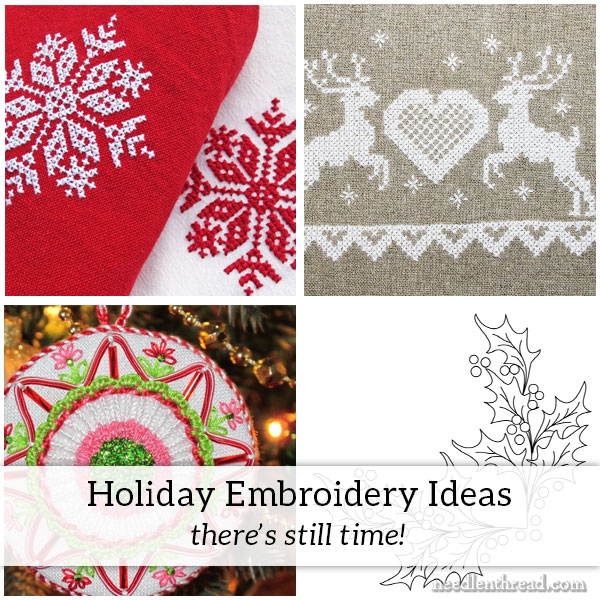 Holiday Embroidery Ideas