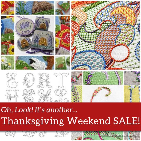 Thanksgiving Weekend Sale on Needle 'n Thread