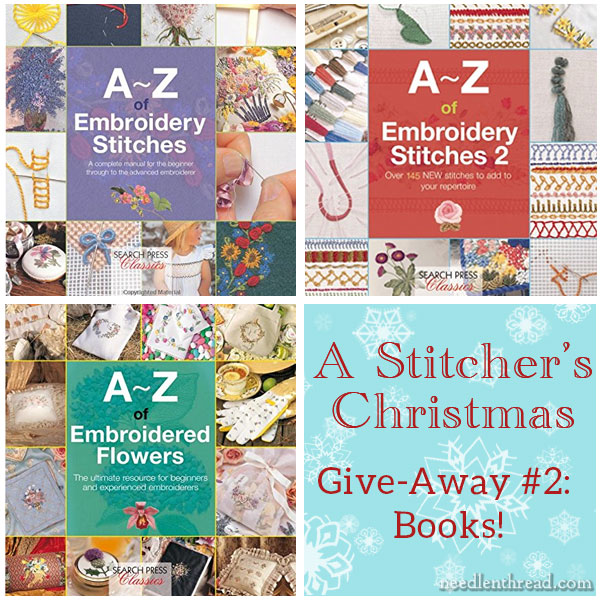 Stitcher's Christmas - A-Z Books Give-away
