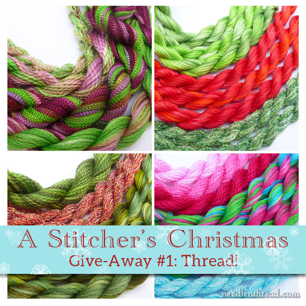 A Stitchers Christmas Give Away 1 Thread Needlenthread