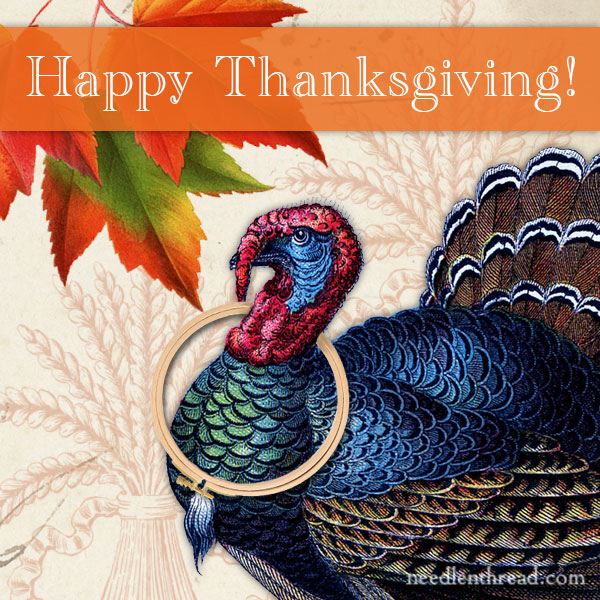 Happy Thanksgiving, 2016, Needle 'n Thread