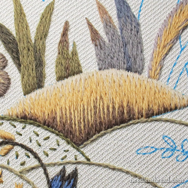 Crewel Embroidery - Long & Short Stitch